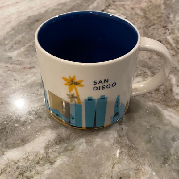 San Diego Starbucks Mug